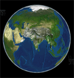 Indian Earth Observation Visualization - Image form Bhuvan