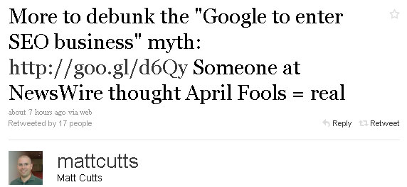 google-enters-seo-business-hoax