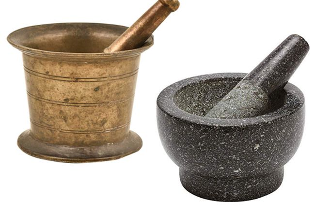 Meaning of Hamam dasta in English. How does Mortar (Pestle) look like