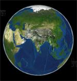Indian Earth Observation Visualization - Image form Bhuvan