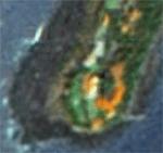 Zooming on Nariman Point Mumbai on Bhuvan