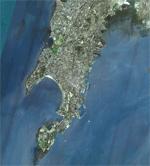 Zooming on Mumbai on Bhuvan