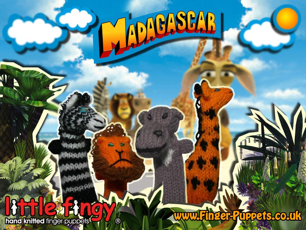 Finger Puppets from UK move to Madagascar