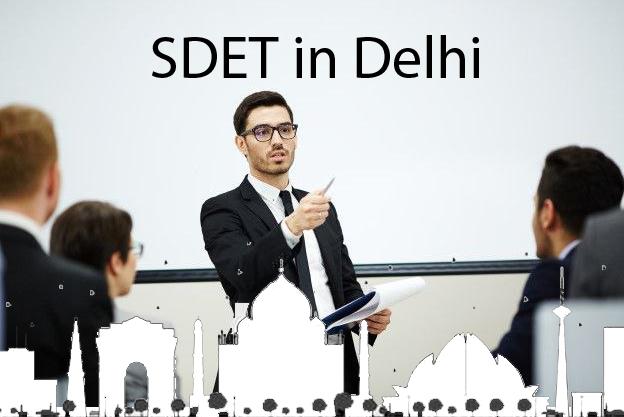 sdet training institute in delhi