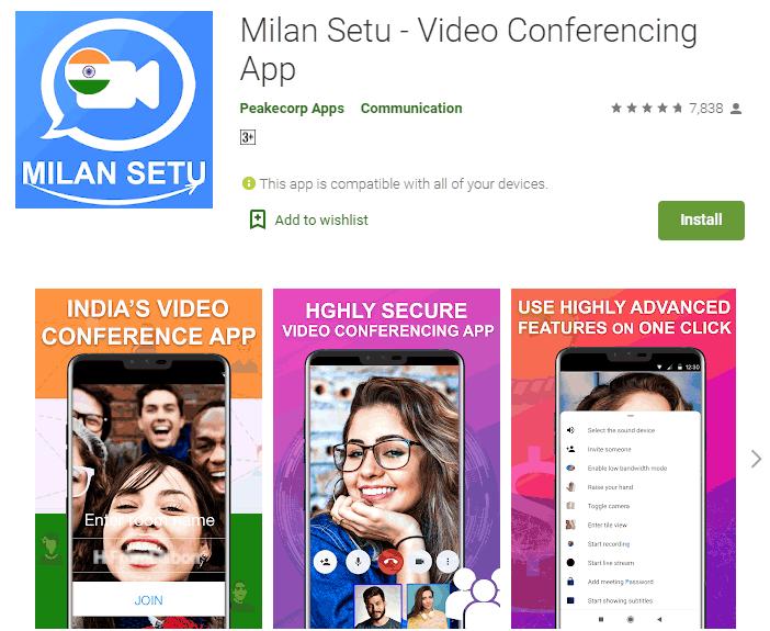 milan setu app screenshot