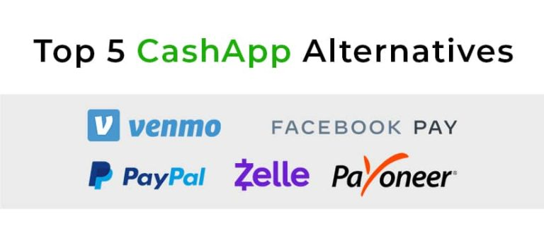 top5 cashapp alternatives